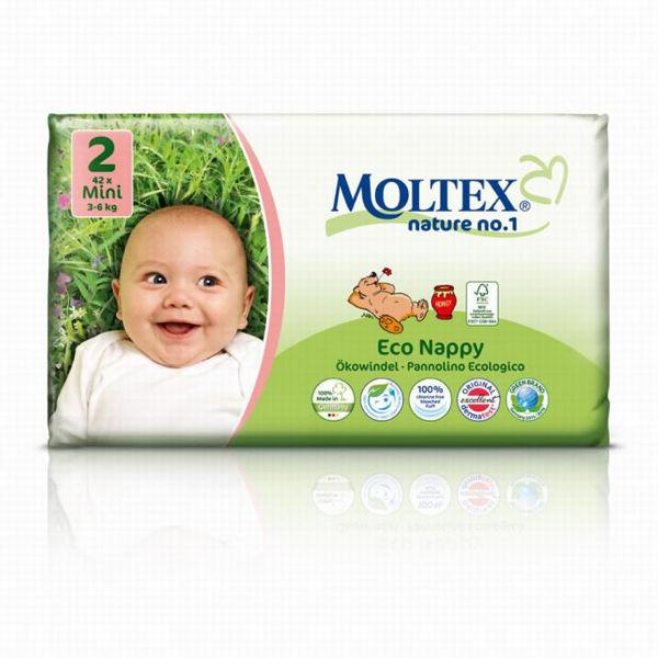 Obrázek Pleny nature mini 3 - 6kg MOLTEX