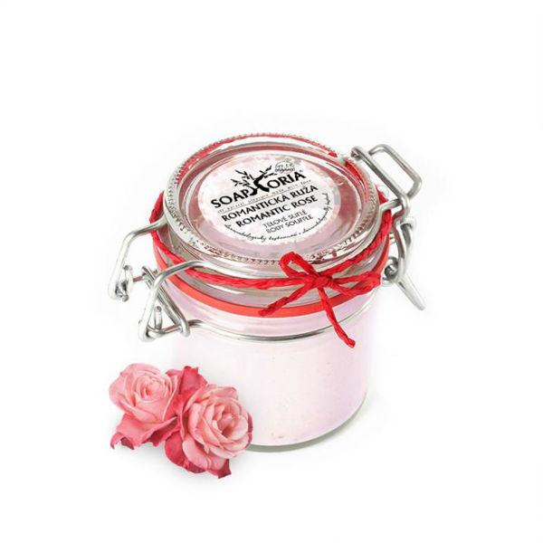 Obrázek Tělové suflé - Romantická růže 125 ml SoapHoria