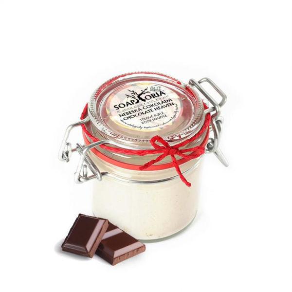Obrázek Tělové suflé - Nebeská čokoláda 125 ml SoapHoria
