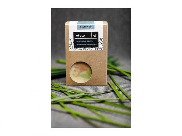 Obrázek Mýdlo Citronová tráva, chlorella a spirulina 100 g Caltha