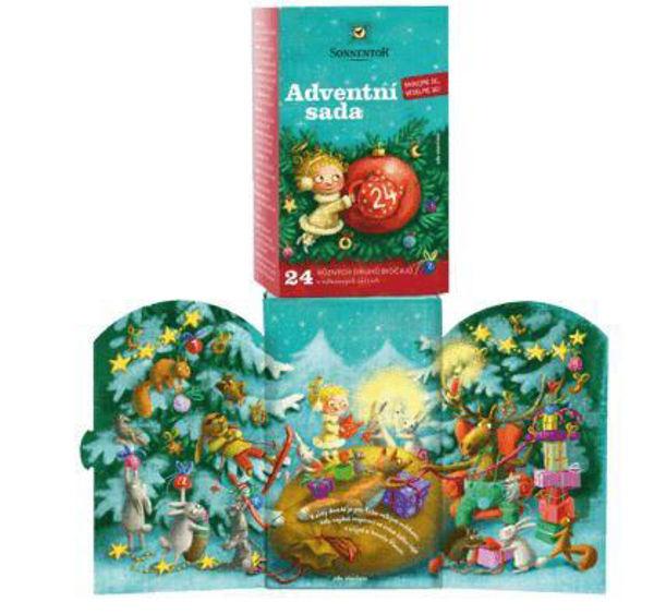Obrázek Sada adventních čajů , 24 různých čajových sáčků 37,5 g SONNENTOR