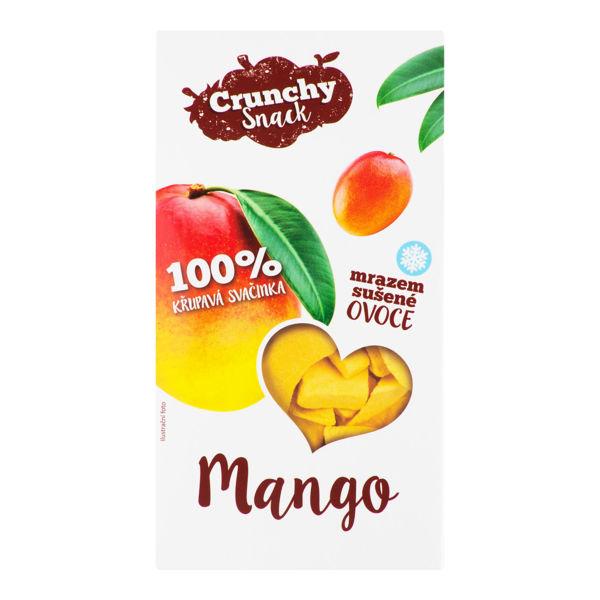 Obrázek Mango sušené mrazem 20 g CRUNCHY SNACK