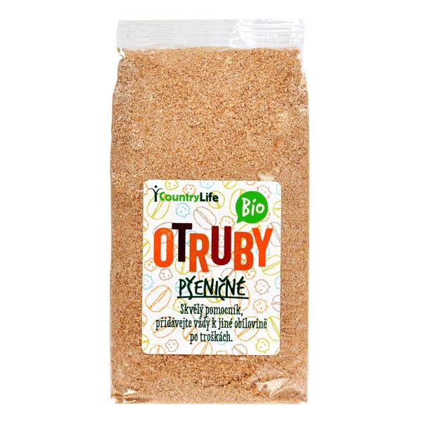Obrázek Otruby pšeničné hrubé 300 g COUNTRY LIFE