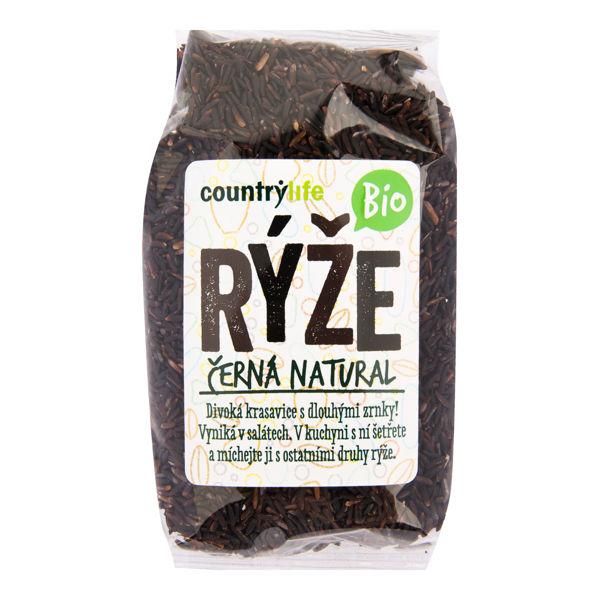 Obrázek Rýže černá natural 500 g COUNTRY LIFE