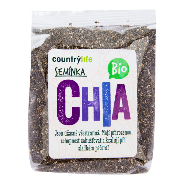 Obrázek Chia semínka 300 g COUNTRY LIFE