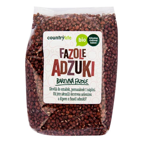 Obrázek Fazole adzuki 1kg COUNTRYLIFE
