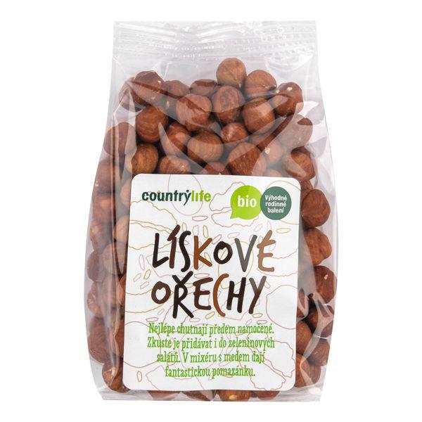 Obrázek Lískové ořechy 250g COUNTRYLIFE