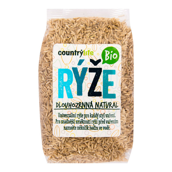 Obrázek Rýže dlouhozrnná natural 500 g COUNTRY LIFE