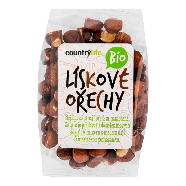 Obrázek Lískové ořechy 100 g COUNTRY LIFE