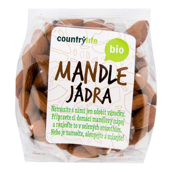 Obrázek Mandle jádra 100 g COUNTRY LIFE