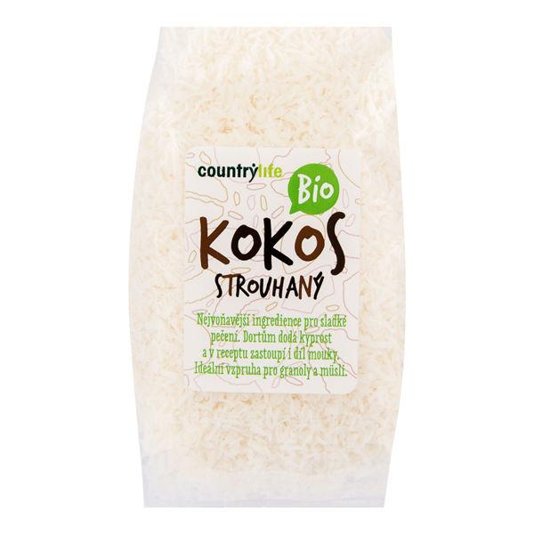 Obrázek Kokos strouhaný 200 g COUNTRY LIFE