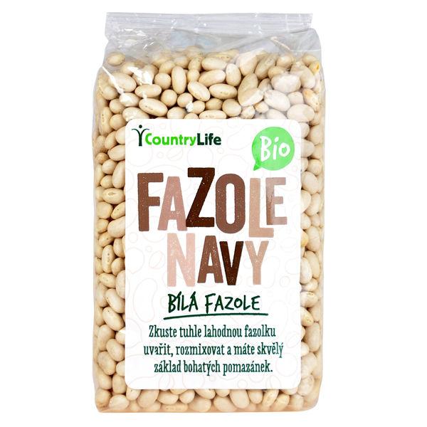 Obrázek Fazole navy 500 g COUNTRY LIFE