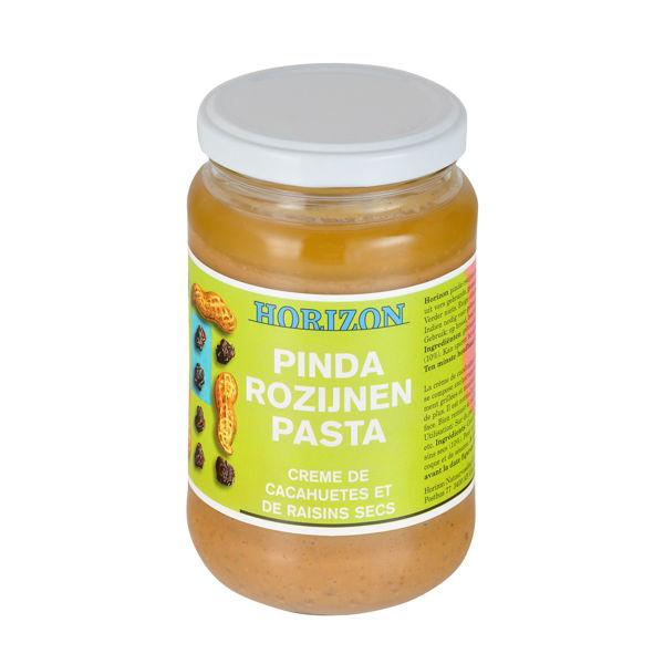Obrázek Krém arašídový s rozinkami 350 g HORIZON