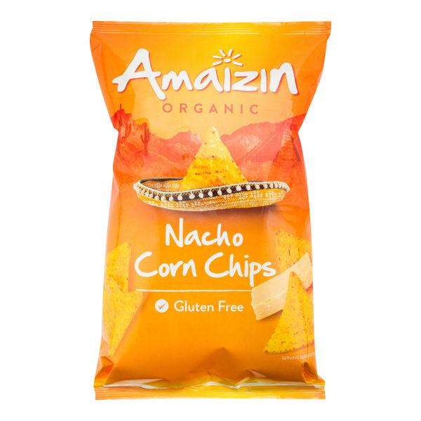 Obrázek Chipsy kukuřičné nacho 150 g AMAIZIN