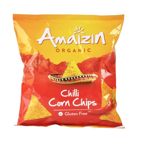 Obrázek Chipsy kukuřičné chilli 75 g AMAIZIN