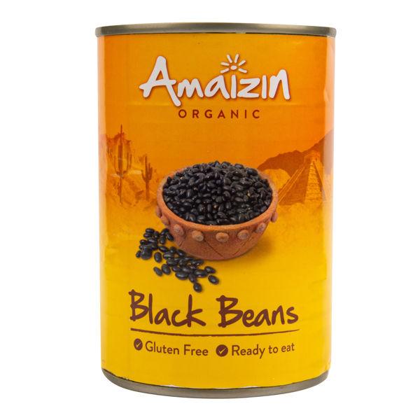 Obrázek Fazole černá sterilovaná 400 g AMAIZIN