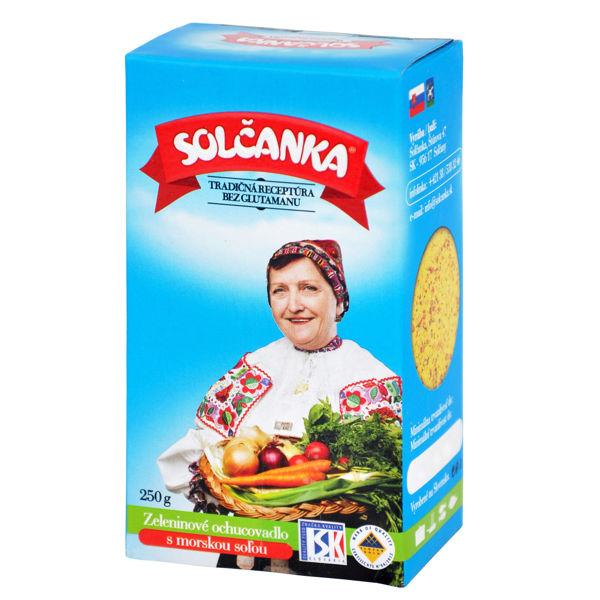Obrázek Zeleninové ochucovadlo s mořskou solí 250 g SOLČANKA