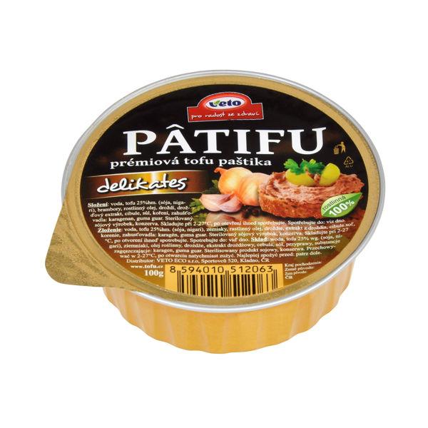 Obrázek Patifu delikates 100 g VETO