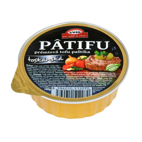 Obrázek Patifu toskánská 100 g VETO