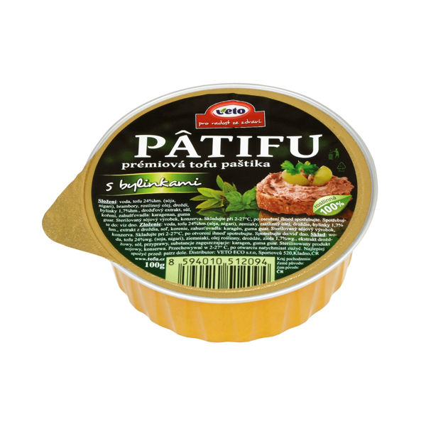 Obrázek Patifu s bylinkami 100 g VETO