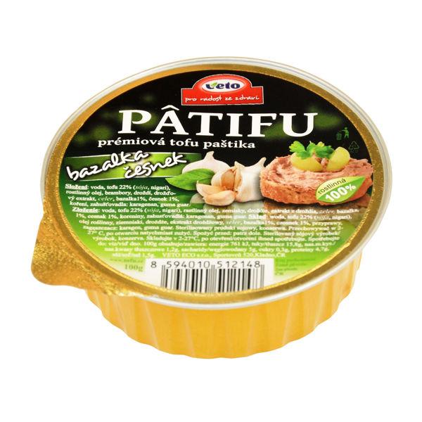 Obrázek Patifu bazalka - česnek 100 g VETO