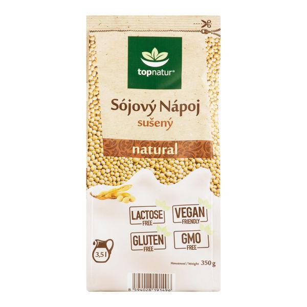 Obrázek Sójový nápoj sušený natural 350g TOPNATUR
