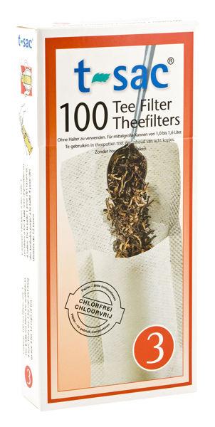 Obrázek Papírový čajový filtr na sypané čaje, vel. 3,SONNENTOR
