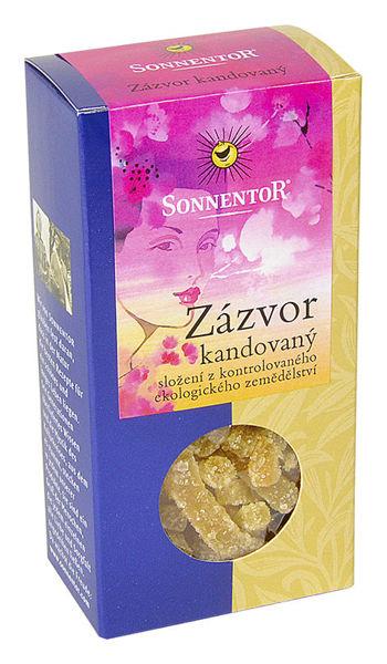 Obrázek Zázvor kandovaný krabička 75 g SONNENTOR