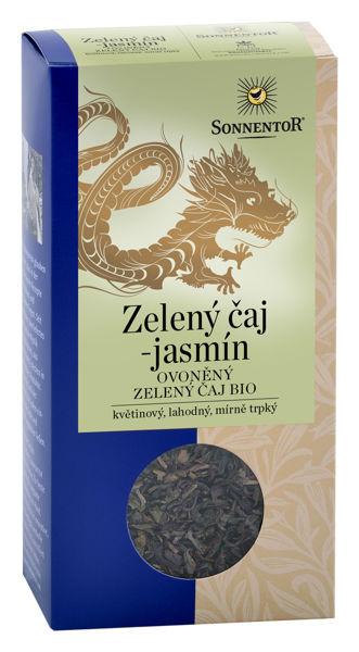 Obrázek Zelený čaj - jasmín 100 g SONNENTOR