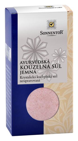 Obrázek Ayurvédská kouzelná sůl jemná konv. 150 g SONNENTOR