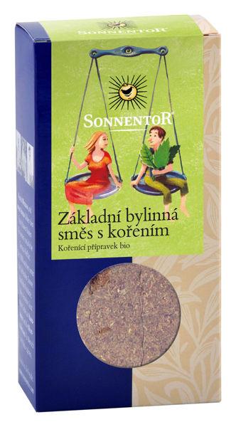 Obrázek Základní bylinná směs s kořením 35 g SONNENTOR