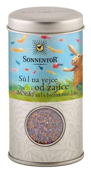 Obrázek Sůl na vejce od zajíce dóza 90 g SONNENTOR