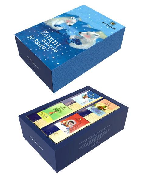 Obrázek Dárková kazeta čajová - Zimní pohoda