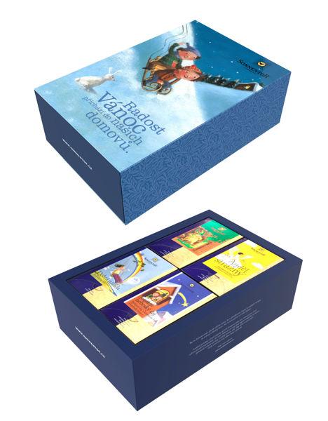 Obrázek Dárková kazeta čajová - Radost Vánoc