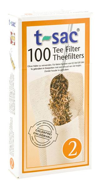 Obrázek Papírový čajový filtr na sypané čaje, vel. 2 SONNENTOR