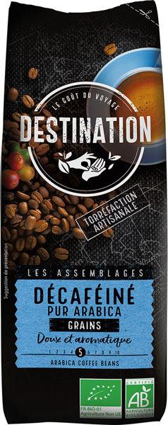 Obrázek Káva zrnková - Bez kofeinu 250 g DESTINATION