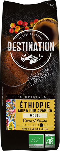 Obrázek Káva mletá - Etiopie 250 g DESTINATION