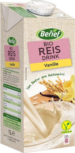 Obrázek Rýžový nápoj vanilka 1 l BERIEF