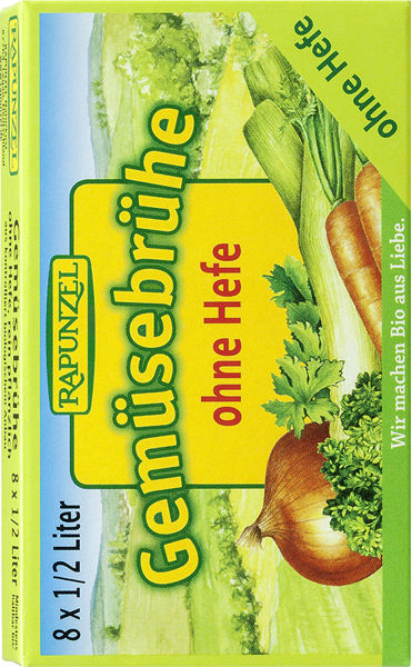 Obrázek Zeleninový vývar v kostce - bez droždí 84 g RAPUNZEL