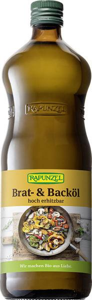 Obrázek Slunečnicový olej na smažení 1 l RAPUNZEL