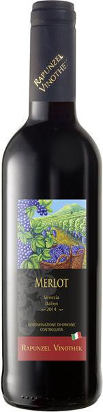 Obrázek Červené víno - Merlot 0,375 l RAPUNZEL