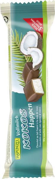 Obrázek Mléčná čokoláda s kokosovou náplní 50 g RAPUNZEL