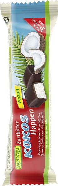 Obrázek Hořká čokoláda s kokosovou náplní 50 g RAPUNZEL