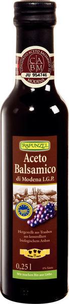 Obrázek Balsamikový ocet z Modeny 250 ml RAPUNZEL