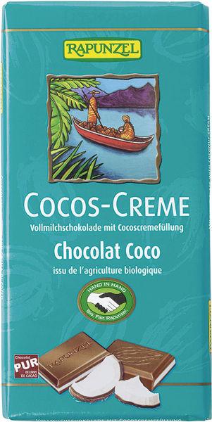 Obrázek Čokoláda s kokosovým krémem 100 g RAPUNZEL