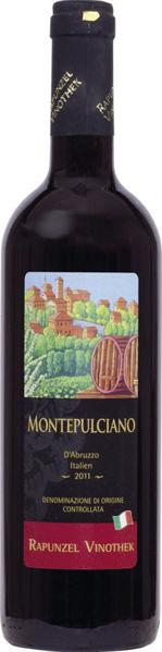 Obrázek Červené víno - Montepulciano 0,75 l RAPUNZEL