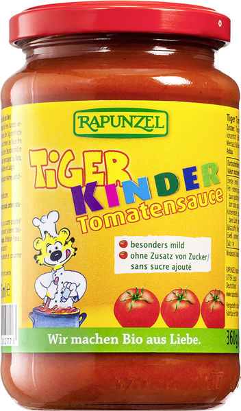 Obrázek Dětská omáčka na těstoviny TYGR 360 g RAPUNZEL