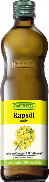 Obrázek Řepkový olej l. za studena 500 ml RAPUNZEL