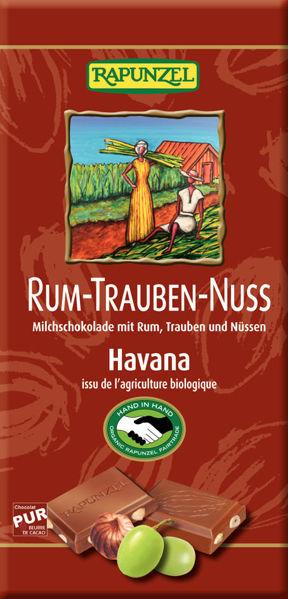 Obrázek Čokoláda rum-víno-ořechy 100 g RAPUNZEL
