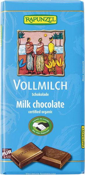 Obrázek Čokoláda mléčná 100 g RAPUNZEL